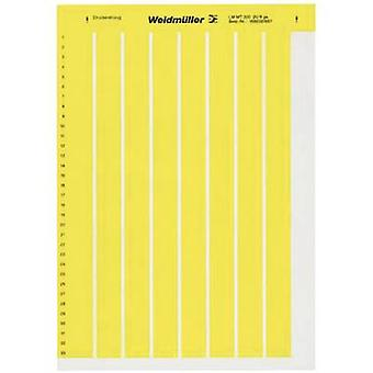Cable identifier LaserMark 10 x 26 mm Label colour: Yellow Weidmüller 1686401687 LM MT300 26X10 GE No. of labels: 156