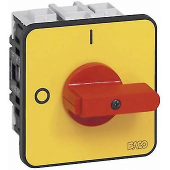 BACO BA172202 Isolator switch 50 A 1 x 90 ° Yellow, Red 1 pc(s)
