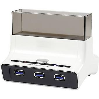 Renkforce rf-docking-04 USB 3.0 SATA III 1 HDD docking stasjon USB-porter
