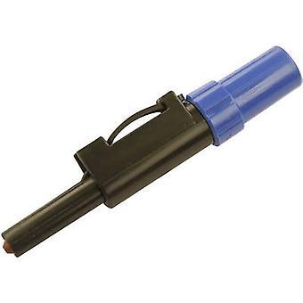 SKS Hirschmann SLS 20 B prise fiche, tout droit Pin diamètre: 4 mm bleu 1 PC (s)