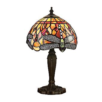 Interiors 1900 Flame Dragonfly Single Light Mini Table
