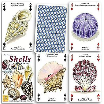 Shells Set Of 52 Playing Cards (+ Jokers)