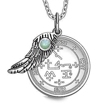 Erkeengelen Samael Sigil magiske Wing Amulet