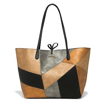 Desigual shopper handbag BOLs Ares Capri zipper 18WAXPDS/9003
