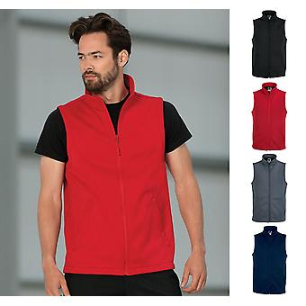 Russell Mens Smart Softshell Gilet-R041M
