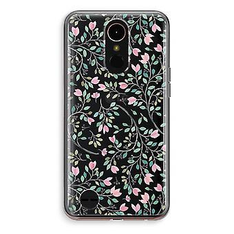 LG K10 (2018) Transparent Case (Soft) - Dainty flowers