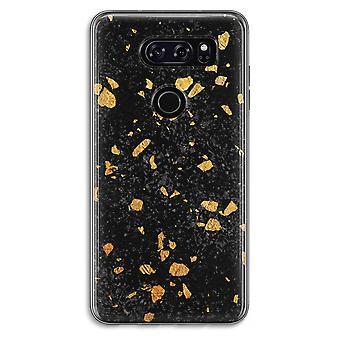 LG V30 Transparent Case - Terrazzo N°7