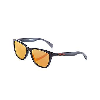 Oakley Black Ink-Prizm Ruby Frogskins Sunglasses