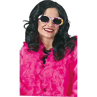 Accessoire de lumière noire perruque dames attirés Carnaval Halloween
