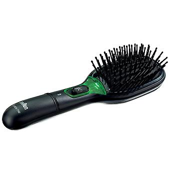 Braun BR710 Satin Hair 7 IonTec Medium Thick Hot Air Hair Styler Brush - Black