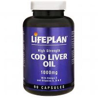 Lifeplan, Cod Liver Oil 1000mg, 90 capsules