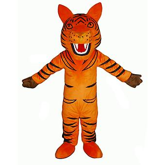 SPOTSOUND of orange and black, Roaring Tiger mascot