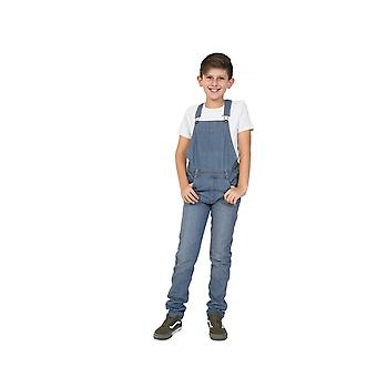 Boys Lightwash Denim Dungarees Age 4-14 Years Slim Fit Overalls