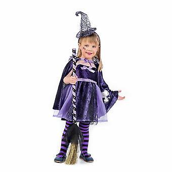 Purple witch child costume sorceress child costume
