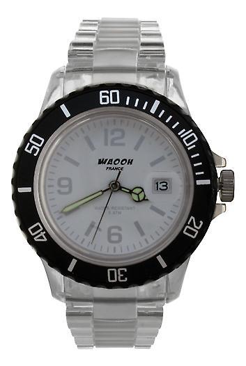 Waooh - Watch VENICE 38 White Bezel Color