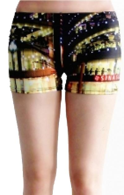 Waooh - Fashion - Shorty printed night street