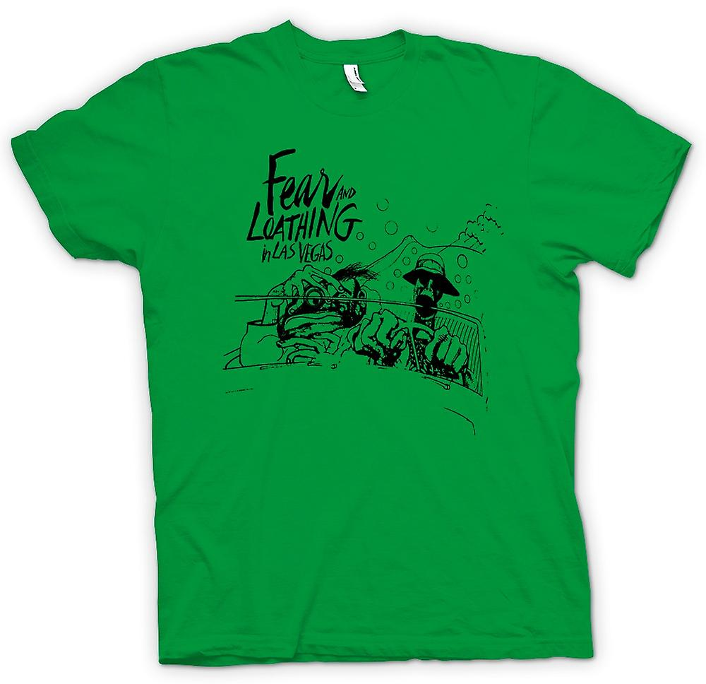Mens T-shirt - Fear And Loathing - dessin animé - Funny