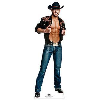 Jaymes Vaughn Cowboy Outfit - Chippendales Lifesize Karton Ausschnitt / AC