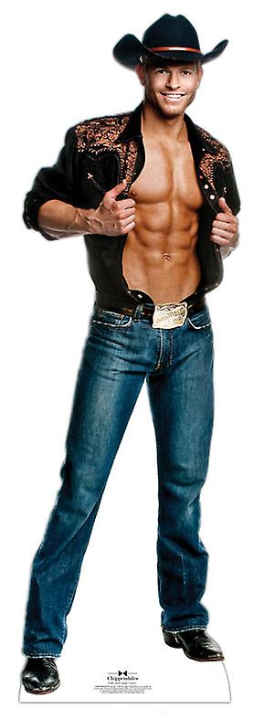 Jaymes Vaughn Cowboy Outfit - Chippendales Lifesize Cardboard Cutout / Standee