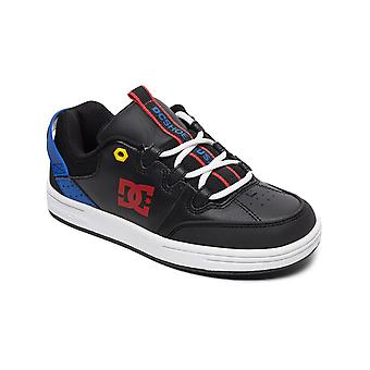 DC Black-Blue-Red Syntax Kids Shoe