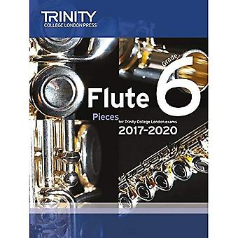 Trinity College London: Flute Exam Pieces Grade 6 2017 to 2020 (score & part)
