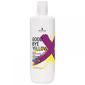 Schwarzkopf GoodBye Yellow neutralizacji szampon 1000 ml