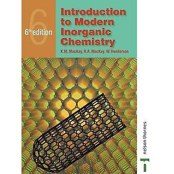Einführung in die moderne anorganische Chemie von MacKay & K. M.