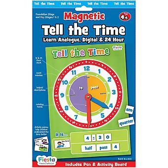 Fiesta Crafts Magnetic Tell The Time