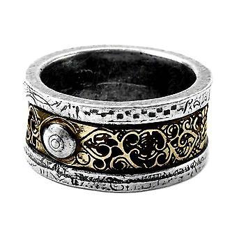 Alchemy Gothic Dr. Von Rosenstein's Induction Principle Pewter Ring