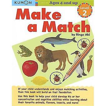 Make a Match Level 2 by Kumon Publishing - 9781935800255 Book