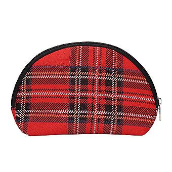 Royal stewart tartan cosmetic bag by signare tapestry / cosm-rstt