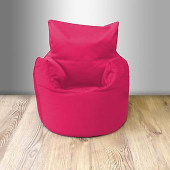 Toddler Cotton Twill Bean Bag Chair - Pink