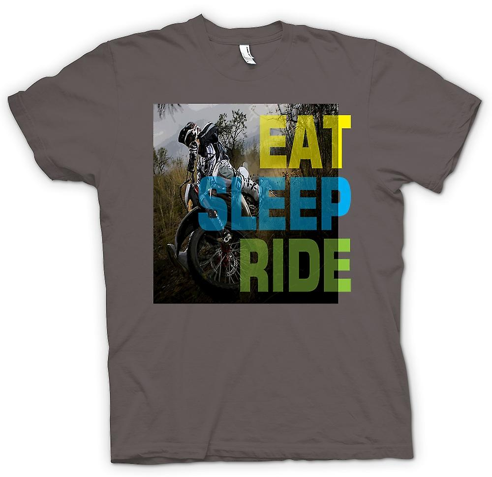 Womens T-shirt - Offroad Motocross - Essen Schlaf Ride
