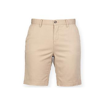 Front row womens's stretch chino shorts - tag-free fr606