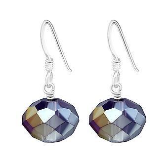 Dangle drops - 925 Sterling Silver Crystal Earrings - W6905X