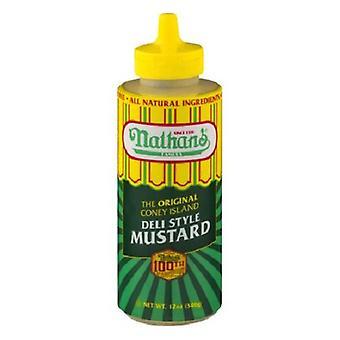 Nathan's Famous Original Coney Island Deli Style Mustard