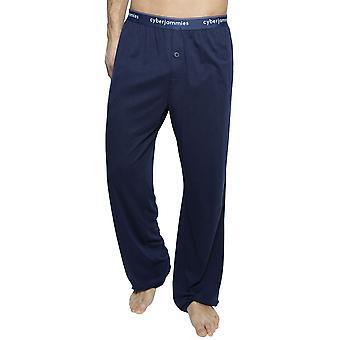 Cyberjammies 6404 Men's Harper Navy Blue Cotton Pyjama Pant