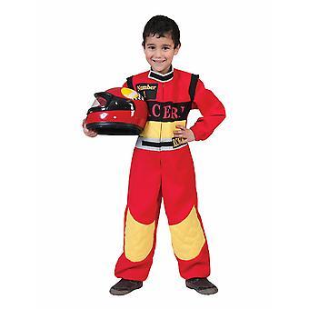 Racer Costume Racer Kids Overall Children's Costume Racing Champ Carnival Carnival Motorsport