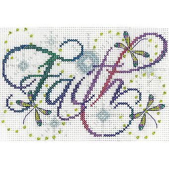 Faith Counted Cross Stitch Kit-5