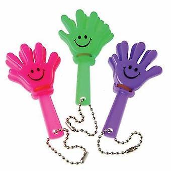 12PK Mini Hand Clapper assortis sac cadeau de partie, Pinata Favout