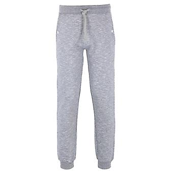 Money High Rinse Grey Melange Tracksuit Bottoms