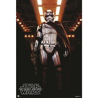 Star Wars The Force ontwaakt Poster kapitein Phasma 204