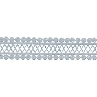 Cross Hatch Edge Venice Lace Trim 1-1/8