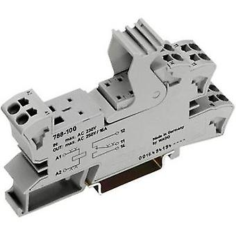 WAGO 788-102 Socket, for 15mm relay, 2 CO