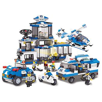 Sluban Swat Police Headquarters Parts 859 (Toys , Constructions , Vehicles)