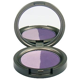Beauty Without Cruelty Pressed Mineral Eyeshadow Duo Purple Passion