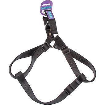 Dog & Co Nylon Harness Black 19mm X76cm