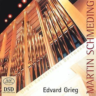 Martin Schmeding - importación de Estados Unidos de Martin Schmeding juega Edvard Grieg [SACD]