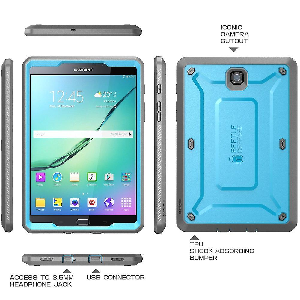 Galaxy Tab S2 9.7, Supcase, Samsung Galaxy Tab S2 9.7, Unicorn Beetle Pro,Screen Protector-Blue/Black