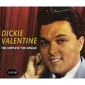 Dickie Valentine - Dickie Valentine: Komplett 50-tal singlar [CD] USA import